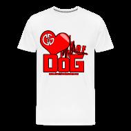 T-Shirts ~ Men's Premium T-Shirt ~ Heart of DoG Shirt Mens