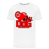 T-Shirts ~ Men's Premium T-Shirt ~ Heart of DoG Shirt Mens