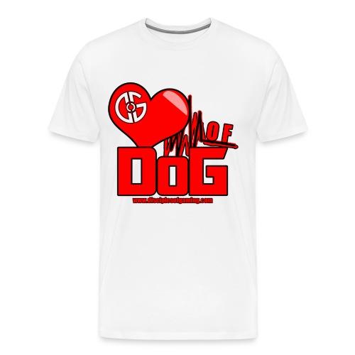 Heart of DoG Shirt Mens - Men's Premium T-Shirt