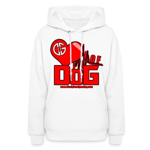 Heart of DoG Shirt Womens Hoodie - Women's Hoodie
