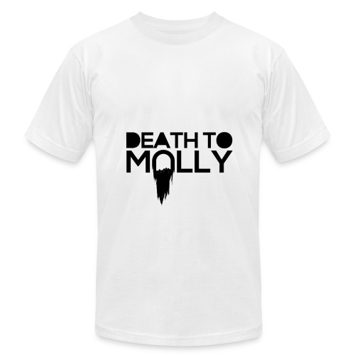 death to Molly black  - Men's  Jersey T-Shirt