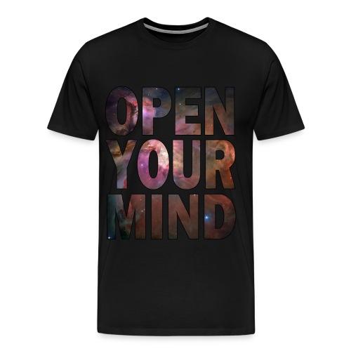 BE OPEN - Men's Premium T-Shirt