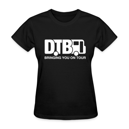 Digital Tour Bus Women's T-shirt - White Design - Women's T-Shirt