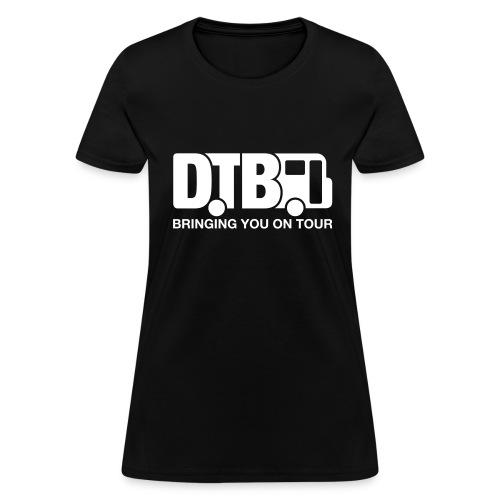 Digital Tour Bus Women's T-shirt - White Design - Women's T-Shirt