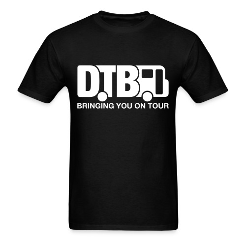 Digital Tour Bus Men's T-shirt - White Design - Men's T-Shirt