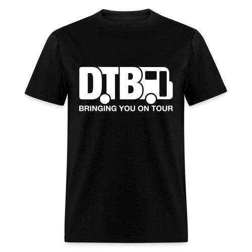 Digital Tour Bus Men's T-shirt - White Design - Men's T-Shirt