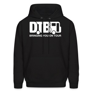 Digital Tour Bus Men's Hoodie - White Design - Men's Hoodie
