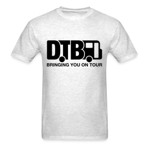 Digital Tour Bus Men's T-shirt - Black Design - Men's T-Shirt