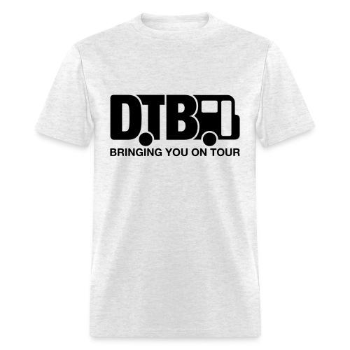 Digital Tour Bus Men's T-shirt - Black Design - Men's T-Shirt
