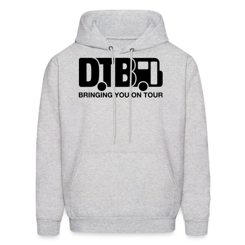 Digital Tour Bus Men's Hoodie - Black Design - Men's Hoodie