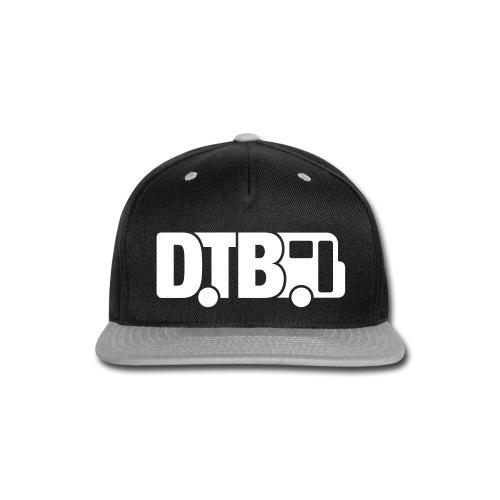 Digital Tour Bus Snapback Hat - Snap-back Baseball Cap