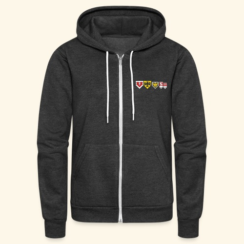 Stage Emblems - Unisex Fleece Zip Hoodie
