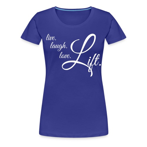Women's Premium T-Shirt - weights,training,lift,gym,flex,fitness,bro,bodybuilding