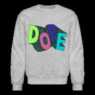 Long Sleeve Shirts ~ Crewneck Sweatshirt ~ Bel air 5s crewneck-Jordan V fresh prince sweatshirt-DOPE-grey