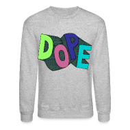 Long Sleeve Shirts ~ Crewneck Sweatshirt ~ Bel air 5s crewneck-Jordan V fresh prince sweatshirt-DOPE-grey
