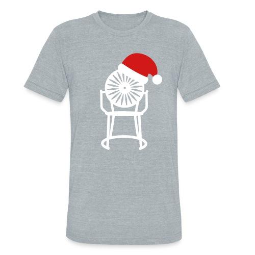 Solo Chair Tee Santa - Unisex Tri-Blend T-Shirt