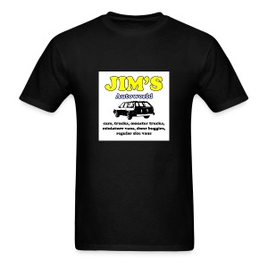 Jim's Autoworld T-Shirt - Men's T-Shirt