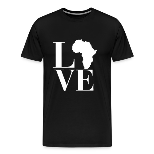 Love Africa - Men's Premium T-Shirt