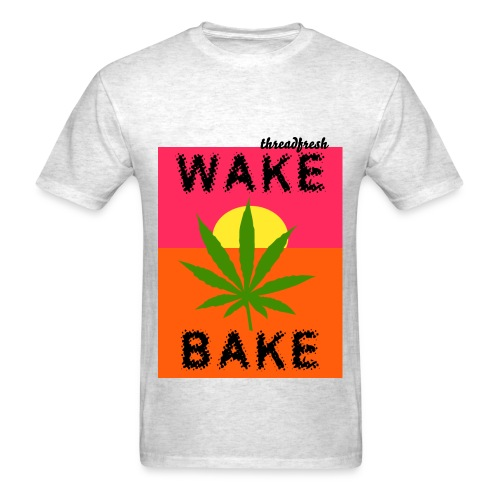 Wake Bake - Men's - Men's T-Shirt