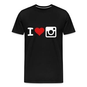 I heart Instagram. - Men's Premium T-Shirt