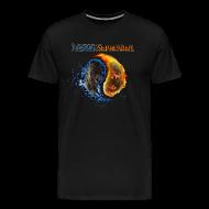 T-Shirts ~ Men's Premium T-Shirt ~ Yin Yang