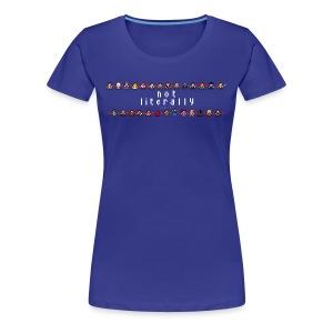 I Ship It - Pixel Characters Lines Women's Tee - Women's Premium T-Shirt