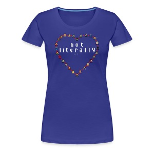 I Ship It - Pixel Characters Heart Women's Tee - Women's Premium T-Shirt