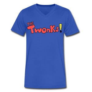 The Twonks V-Neck T-Shirt - Men's V-Neck T-Shirt by Canvas
