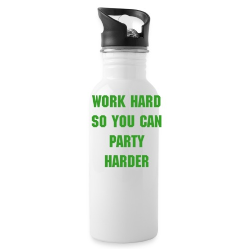 work hard gym bottle - Water Bottle