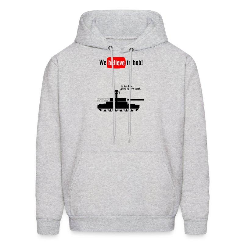Bob Has A Tank Hoodie (Black Design) - Men's Hoodie