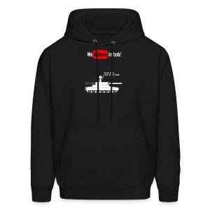 Bob Has A Tank Hoodie (White Design) - Men's Hoodie