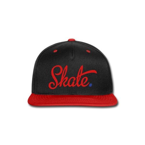 Skate Snapback - Snap-back Baseball Cap