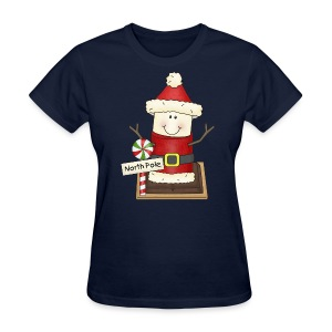 Santa Smore Holiday Shirt - Women's T-Shirt