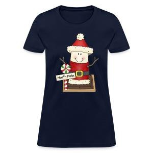 Santa Smore Holiday Shirt - Women's T-Shirt