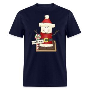 Santa Smore Holiday Shirt - Men's T-Shirt