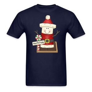 Santa Smore Holiday Shirt - Men's T-Shirt