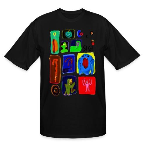 Death Sketch - Men's Tall T-Shirt