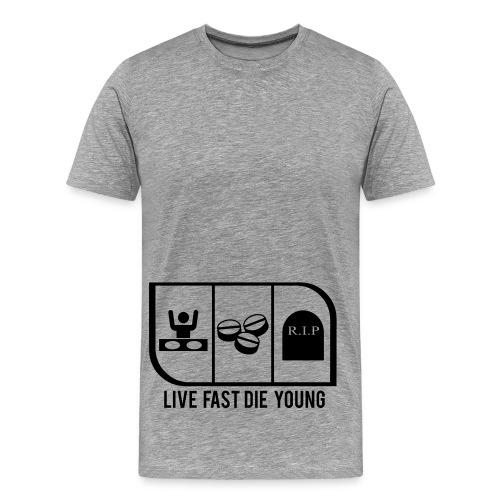 LIVE FAST - Men's Premium T-Shirt