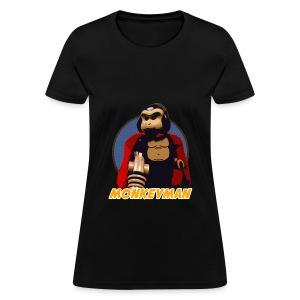 Women's Monkeyman T-shirt - Women's T-Shirt