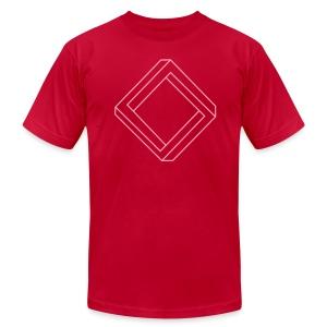 Impossible diamond (man's) - Men's Fine Jersey T-Shirt