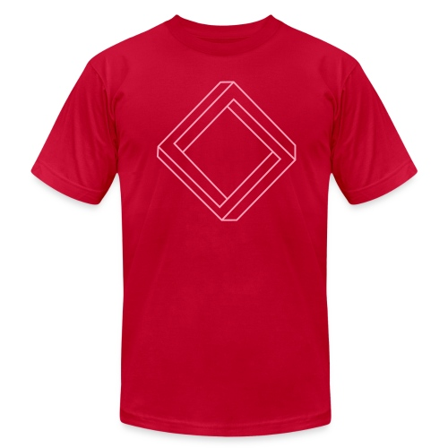 Impossible diamond (man's) - Men's  Jersey T-Shirt