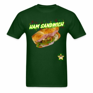 Monkey Pickles Ham Sandwich - Men's T-Shirt