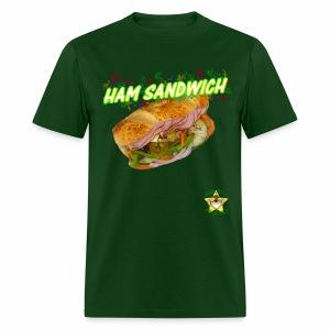 Monkey Pickles Ham Sandwich - Men's T-Shirt