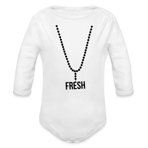 1 piece  - Organic Long Sleeve Baby Bodysuit
