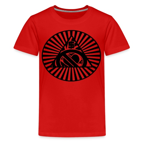 Seek money not love kids tee - Kids' Premium T-Shirt