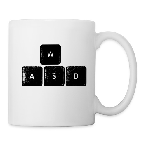 wasd Mug - Coffee/Tea Mug