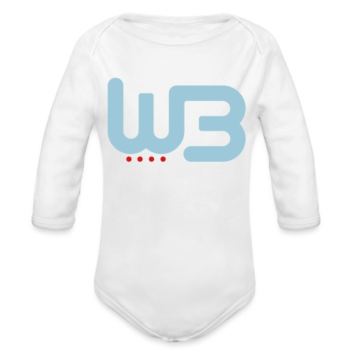 WCB baby  - Organic Long Sleeve Baby Bodysuit