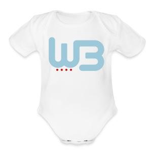 WCB baby short sleeve romper - Short Sleeve Baby Bodysuit