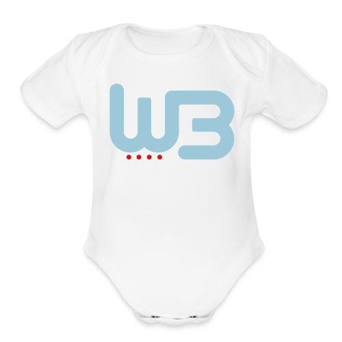 WCB baby short sleeve romper - Organic Short Sleeve Baby Bodysuit