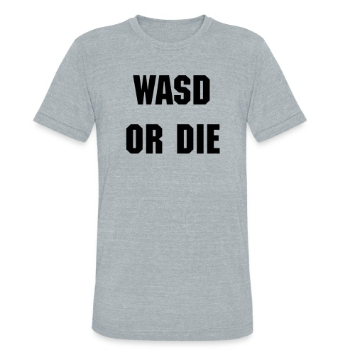 WASD or Die Vintage Men's T - Unisex Tri-Blend T-Shirt